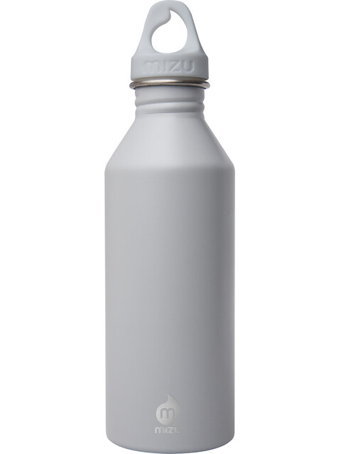 MIZU M5 Drikkeflaske with Light Grey Loop Cap 500ml grå